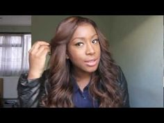 ▶ My New Hair!: Golden Brown Locks - YouTube