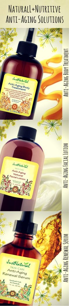 NATURAL+NUTRITIVE / Anti-Aging Solutions / https://justnutritive.com/anti-aging-body-treatment/