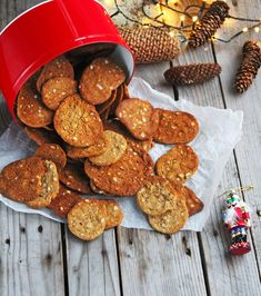 Christmas Baking, Christmas Cookies, Eat Cake, Dog Food Recipes, Biscuits, Almond, Muffins, Favorite Recipes, Breakfast