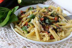 Pasta con verdure,un primo vegetariano semplice,veloce e saporito