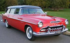1955 DeSoto Firedome Wagon...a beautiful car...