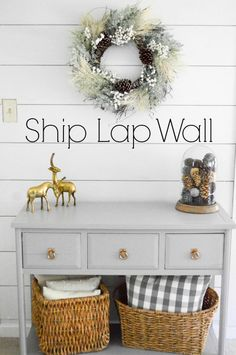 Ship Lap, Planked Wall, Lets Dazzle Darlings Blog