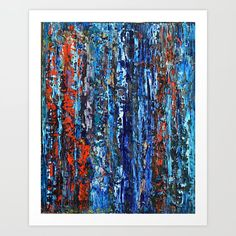 Abstract Oil 9 Art Print by dimitrapapageorgiou Abstract Oil, Art Prints, Artist, Artwork, Blog, Painting, Art Impressions, Work Of Art, Fine Art Prints