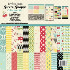 2013 CHA Releases - Lilybee Design - Sweet Shoppe