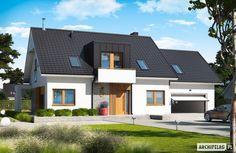 Katrina G2 to propozycja dla inwestorów, którzy marzą o przestronnym domu z nowoczesnym pazurem. Fot. Archipelag