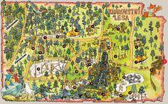 Království lesa New Forest, Tree Tops, Attraction, City Photo, Vintage World Maps, Czech Republic, Tips, Bohemia, Vacation