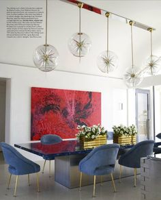 Timothy Haynes and Kevin Roberts, edgy dining room , Best Interior Design, Top Interior Designers, Home Decor Ideas, Decor Tips, Contemporary design. For More News: http://www.bocadolobo.com/en/news-and-events/