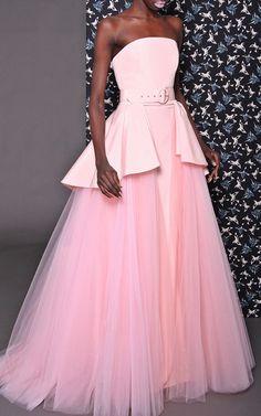 Tulle Over Skirt Gown by Christian Siriano | Moda Operandi