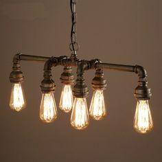 Achetez (En Stock) Lampe suspendue - Rétro Métal avec le Meilleur Prix et le Meilleur Service!