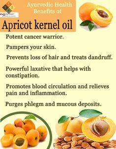 Ayurvedic health benefits of Apricot kernel oil | Ayurvedic Oils