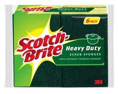 New Straightforward 80 Ocelo 3m Heavy Duty Foam Scrubbers Foam Sponges 40 Packs Of 2