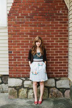 bennair skirt. gentlemen & a lady photography.