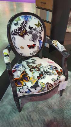chaise papillon