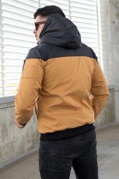 GECI | STREET STYLE RO Camo, Biker, Rain Jacket, Windbreaker, Street Style, Leather, Jackets, Black, Fashion