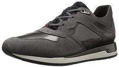 b09e486c001 Geox Womens Wshahira28 Women's Walking Shoes Shoe Dark Grey 38 EU8 M US ***