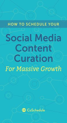 Find the content curation combo that works for you! http://coschedule.com/blog/social-media-content-curation/?utm_campaign=coschedule&utm_source=pinterest&utm_medium=CoSchedule&utm_content=Schedule%20Your%20Social%20Media%20Content%20Curation%20For%20Growth