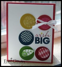 Stampin' Up!  Clean and Simple  Word Play  Erica Cerwin