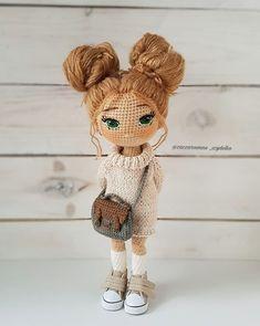 Mesmerizing Crochet an Amigurumi Rabbit Ideas. Lovely Crochet an Amigurumi Rabbit Ideas. Crochet Doll Tutorial, Crochet Diy, Crochet Doll Pattern, Amigurumi Tutorial, Crochet Amigurumi Free Patterns, Crochet Animal Patterns, Doll Patterns, Yarn Dolls, Knitted Dolls