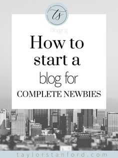 How to Start a Blog In 2019 the most simple way possible. Here is how to start a blog as a beginner with no experience.