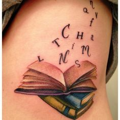 Another great teacher tattoo idea