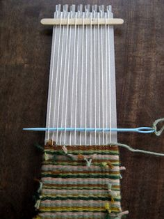 how to weave a flap