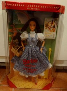 1994 HOLLYWOOD LEGENDS~Dorothy in the Wizard of Oz Barbie Doll!MIB!