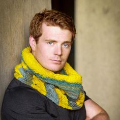Wow! Check this guy out, I'd knit him a cowl too! Gilded Isles Cowl is a striped cowl with slipped stitches and seed stitch, knitting pattern has written and charted stitch patterns.