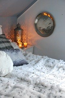 This is just lovely. Maroccan bed spread.