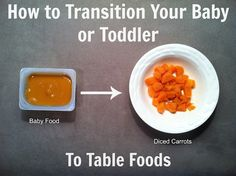 When, what, and how to get your baby or toddler onto table food.