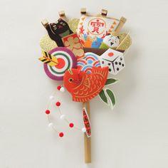 恵比寿熊手飾り|日本市|中川政七商店公式通販サイト|中川政七商店公式通販