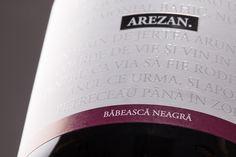 M1.Crama Atelier - Arezan Babeasca Neagra. #cramaatelier #arezan Wine Labels, Drinks, Bottle, Wine, Atelier, Drinking, Wine Tags, Beverages, Flask