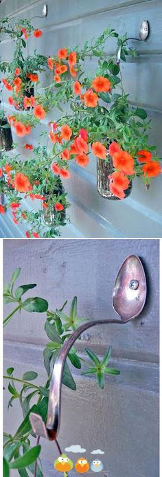 silverplate bent to  hold hanging pots  Repiny - Most inspiring pictures and photos!