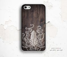 iPhone 6 Case iPhone 5C Case Octopus  iPhone 4 Case by Percasive