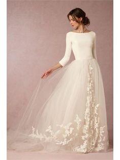 Tyl Svatební Svatební šaty