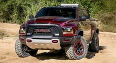 2017 Dodge Ram 1500 TRX4. The new Hellcat powered Ram.   I will have one one day