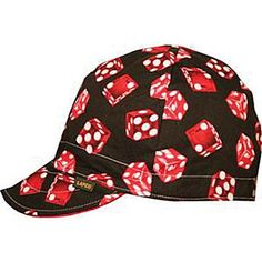 Print Welding Cap Pattern | www.zanheadgear.com: : Zan Cap, Welders Cap, Cotton, Skull Pattern