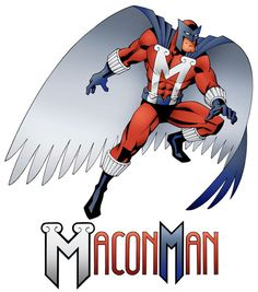 Macon Man! A syndicated comic strip set in the real city of Macon, Georgia.