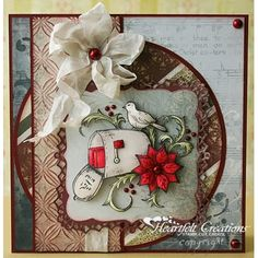 Heartfelt Creations - Holiday Mail Project