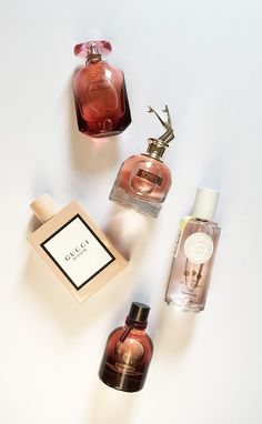 Neue Düfte Herbst 2017: Review Gucci Bloom, Bottega Veneta Eau de Velours, Jean Paul Gaultier Scandal, Roger & Gallet Estrait de Cologne Thé Fantasie und Shiseido Ever Bloom (Image: Hey Pretty)