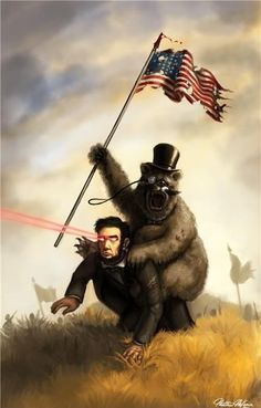 I need something patriotic in my house. Framing this will suffice.