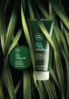 Paul Mitchell Tea Tree Shaping Cream and Tea Tree Firm Hold Gel Ad Photography, Commercial Photography, Still Life Photography, Product Photography, Cosmetic Photography, Beauty Ad, Beauty Shoot, Foto Still, Cosmetic Design