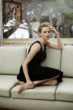 .Beautiful Princess Charlene of Monaco...