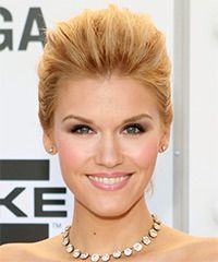 Emily Rose Hairstyle: Formal Updo Long Straight Hairstyle