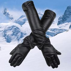 Find More Gloves & Mittens Information about Women's PU Over Elbow Gloves Winter Long Gloves Full Finger Gloves,High Quality glove,China gloves hat scarf set Suppliers, Cheap glove work from Bys Store Store on Aliexpress.com