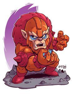 Chibi Beast Man by DerekLaufman on DeviantArt