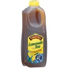 This stuff is summer in a bottle!  Turkey Hill Half-Gallon Beverages - Three Bottles (Lemonade Tea): Amazon.com: Grocery & Gourmet Food