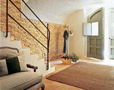 Inspiring Interiors: Restored Home in Spain Mediterranean Homes, House Design, Moorish Design, Rustic House, Countryside House, Beautiful Interior Design, Home Deco, Stone Houses, House Design Photos