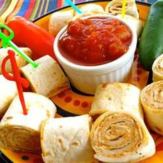 Clemson Girl: Tailgate Recipe: Taco Tortilla Rollups