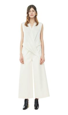 Solace London Gilmore Trousers Cream Image 0
