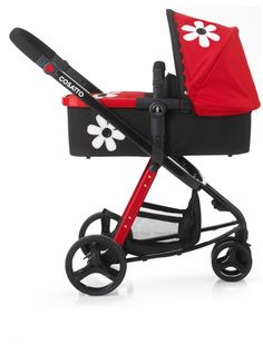 The ultimate girly 3 in 1 combi pushchair - she's throughly bizzy Betty